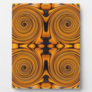Fruit Swirl Plaque
