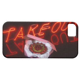 Fruit tart with neon take-out sign case for the iPhone 5