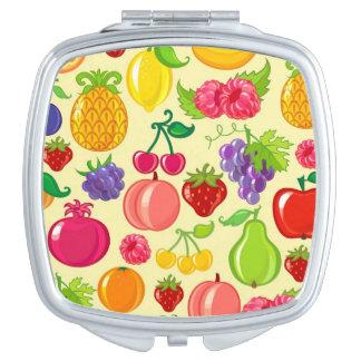 Fruit Travel Mirror