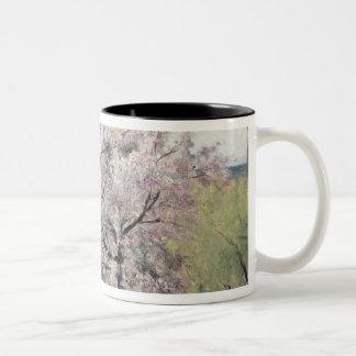 Fruit Tree in Blossom, Bois-le-Roi Two-Tone Coffee Mug
