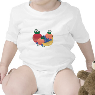 Fruit Baby Bodysuits