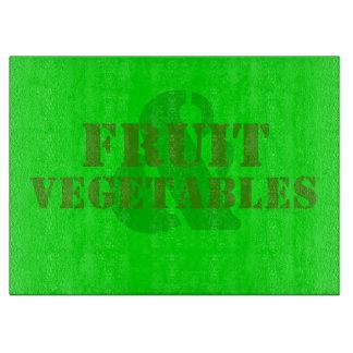Fruit & Vegetables Cutting Board