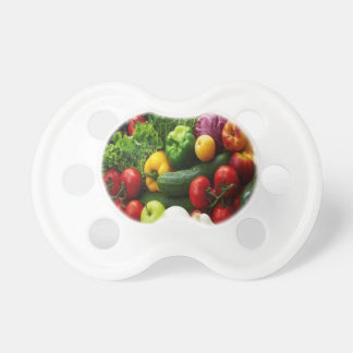 FRUIT & VEGETABLES BABY PACIFIERS
