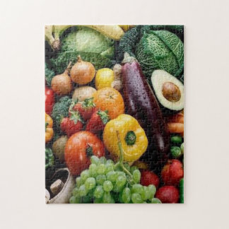 FRUIT  VEGETABLES JIGSAW PUZZLE