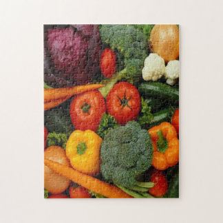 FRUIT & VEGETABLES JIGSAW PUZZLE