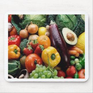 FRUIT & VEGETABLES MOUSE MAT