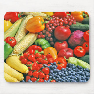 fruit & vegetables mouse mat