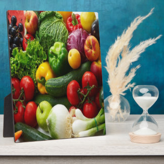 FRUIT & VEGETABLES PLAQUE