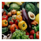 FRUIT  VEGETABLES POSTER
