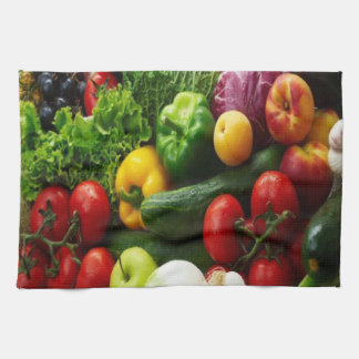 FRUIT & VEGETABLES TEA TOWEL