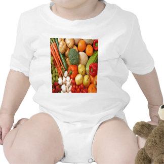 FRUIT & VEGETABLES ROMPERS