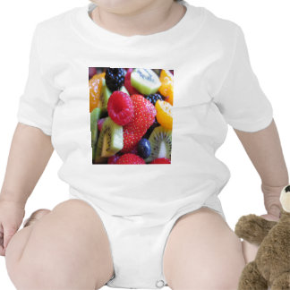 FRUIT VEGETABLES BABY BODYSUIT