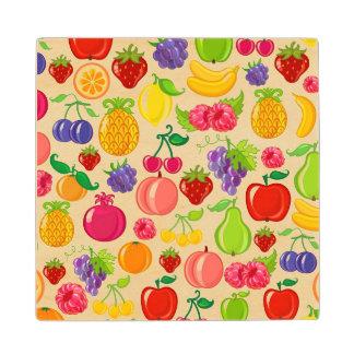 Fruit Wood Coaster