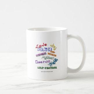 Fruitage Of God's Spirit Basic White Mug