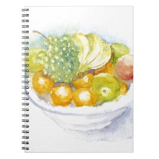 Fruitbowl Spiral Notebook