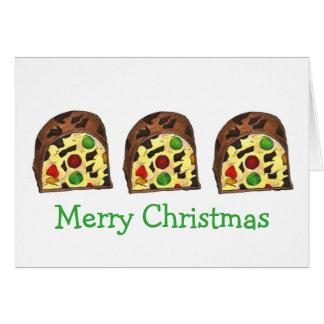 Fruitcake Christmas Cards
