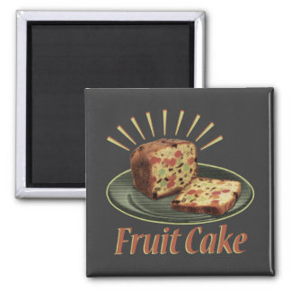 Fruitcake Fruit Cake Magnet