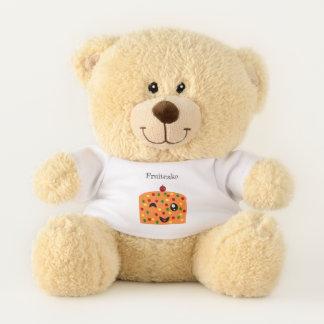Fruitcake Teddy Bear