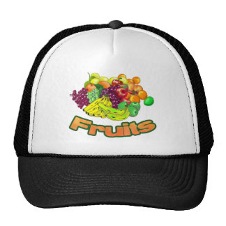 Fruits and Groceries Hats