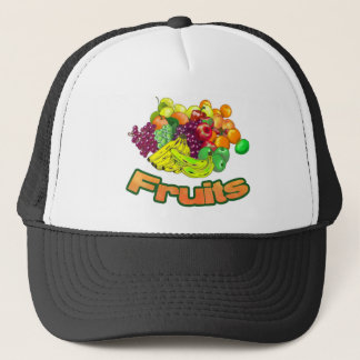 Fruits and Groceries Trucker Hat