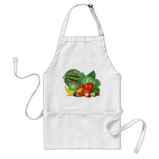 Fruits and vegetables aprons