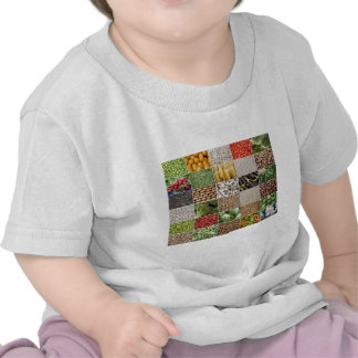 Fruits and Vegetables Tee Shirts