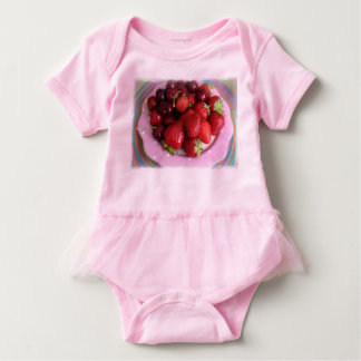 Fruits Baby Bodysuit
