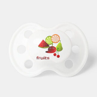 fruits baby pacifiers