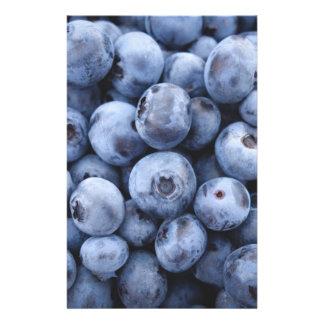 Fruits Blueberries snack fruit berries berry 14 Cm X 21.5 Cm Flyer