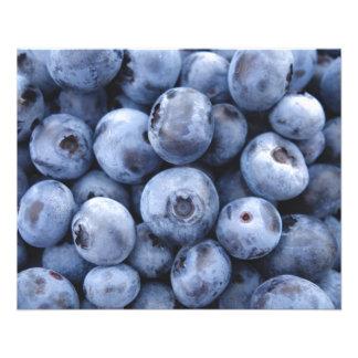 Fruits Blueberries snack fruit berries berry 11.5 Cm X 14 Cm Flyer