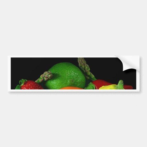 Fruits Bumper Sticker