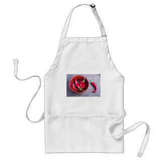 Fruits chilli hot red pepper standard apron