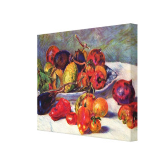 Fruits du Midi Canvas Print