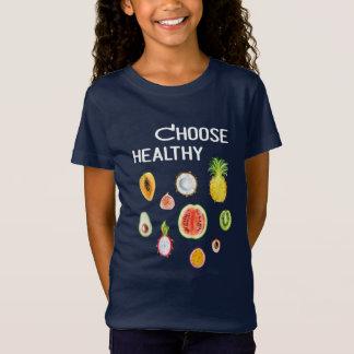 Fruits Food: Choose Healthy Vegan, Vegetarian T-Shirt
