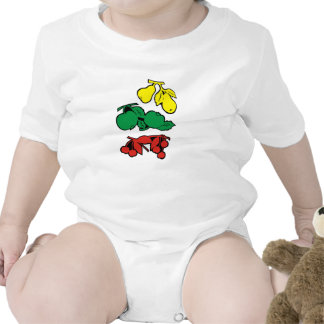 Fruits for babies baby bodysuits
