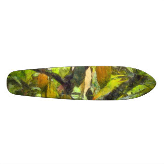 Fruits hanging down from a branch 20.6 cm skateboard deck