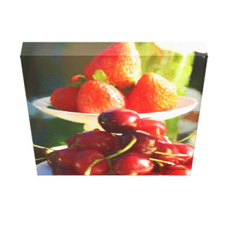 Fruits In Focus Canvas Print