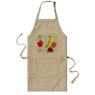 Fruits Long Apron