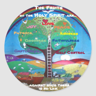 Fruits of the Holy Spirit Stickers
