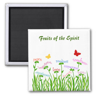 Fruits of the Spirit Garden magnet