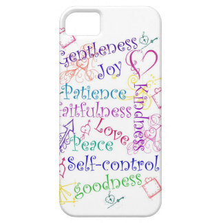 Fruits of the Spirit iPhone Cover iPhone 5 Cover