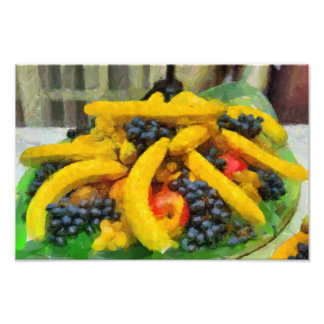 Fruits painting art photo