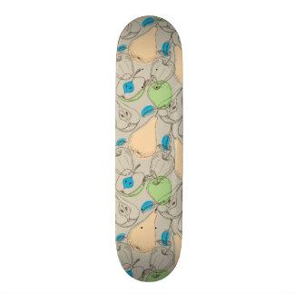 Fruits pattern 18.1 cm old school skateboard deck