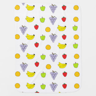Fruits Pattern Swaddle Blankets