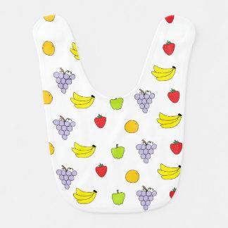 Fruits Pattern Bibs