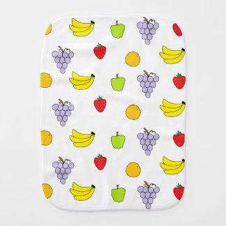 Fruits Pattern Burp Cloths