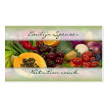 Fruits & Vegetables Healthy Life/Nutritionist Card Pack Of Standard Business Cards