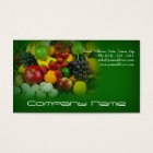 Fruits Vegetables / Healthy Life / Vegetarian Card
