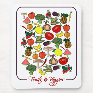 Fruits & Veggies mousepad