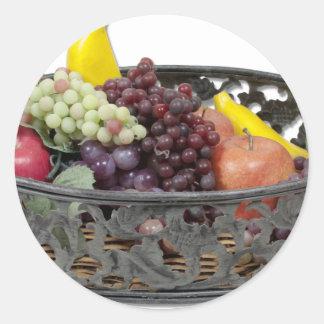 FruitTray Round Sticker